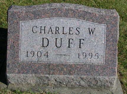 DUFF, CHARLES WESLEY - Madison County, Iowa | CHARLES WESLEY DUFF
