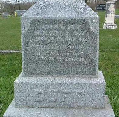 DICKSON DUFF, ELIZABETH - Madison County, Iowa | ELIZABETH DICKSON DUFF
