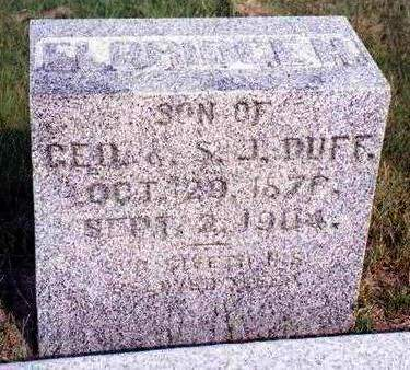 DUFF, ELBRIDGE H. - Madison County, Iowa | ELBRIDGE H. DUFF