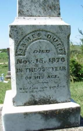DUFF, JAMES - Madison County, Iowa | JAMES DUFF
