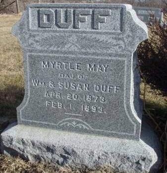 DUFF, MYRTLE MAY - Madison County, Iowa | MYRTLE MAY DUFF