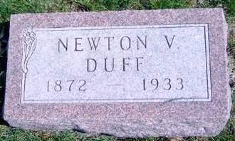 DUFF, NEWTON VANDYKE - Madison County, Iowa | NEWTON VANDYKE DUFF