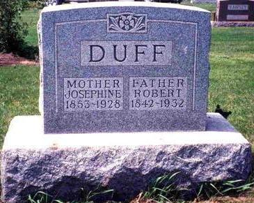 DUFF, JOSEPHINE - Madison County, Iowa | JOSEPHINE DUFF
