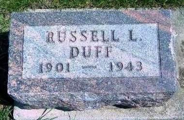 DUFF, RUSSELL LOYD - Madison County, Iowa | RUSSELL LOYD DUFF