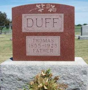 DUFF, THOMAS - Madison County, Iowa | THOMAS DUFF