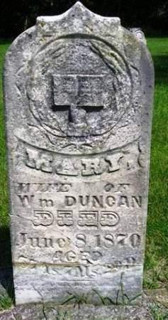 DUNCAN, MARY - Madison County, Iowa | MARY DUNCAN