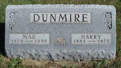 DUNMIRE, MAYME B. (MAE) - Madison County, Iowa | MAYME B. (MAE) DUNMIRE