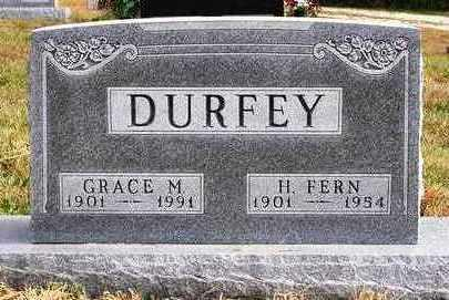 DURFEY, GRACE MAY - Madison County, Iowa | GRACE MAY DURFEY