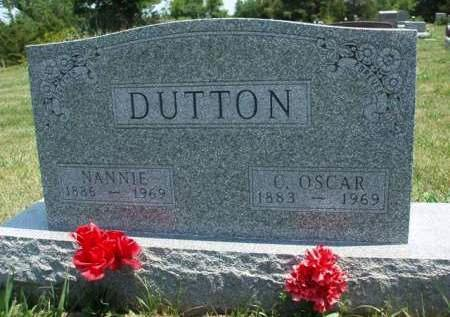 DUTTON, NANNIE - Madison County, Iowa | NANNIE DUTTON