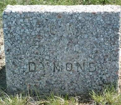 DYMOND, C. W. - Madison County, Iowa | C. W. DYMOND