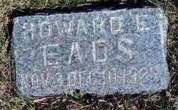 EADS, HOWARD E. - Madison County, Iowa   HOWARD E. EADS