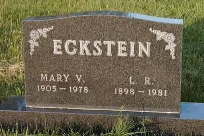 ECKSTEIN, MARY VIOLET - Madison County, Iowa | MARY VIOLET ECKSTEIN