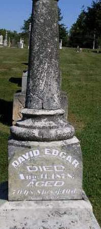 EDGAR, DAVID - Madison County, Iowa | DAVID EDGAR