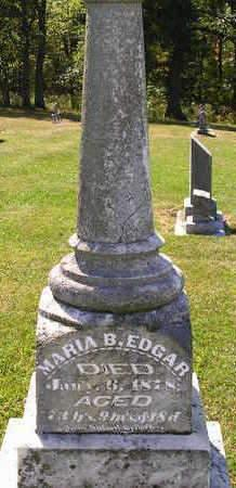EDGAR, MARIA B. - Madison County, Iowa | MARIA B. EDGAR