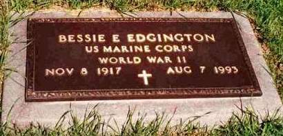 EDGINGTON, BESSIE E. - Madison County, Iowa | BESSIE E. EDGINGTON