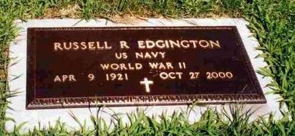 EDGINGTON, RUSSELL RAYMOND - Madison County, Iowa   RUSSELL RAYMOND EDGINGTON