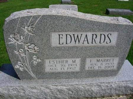 SPENCER EDWARDS, ESTHER MAXINE - Madison County, Iowa | ESTHER MAXINE SPENCER EDWARDS
