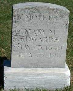MOON EDWARDS, MARY MAE - Madison County, Iowa | MARY MAE MOON EDWARDS