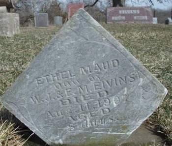 EIVINS, ETHEL MAUDE - Madison County, Iowa | ETHEL MAUDE EIVINS