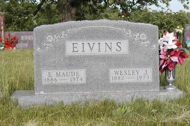 FINNEY EIVINS, EDITH MAUDE - Madison County, Iowa | EDITH MAUDE FINNEY EIVINS