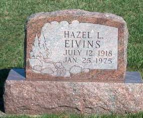 EIVINS, HAZEL LAVAUGHN - Madison County, Iowa | HAZEL LAVAUGHN EIVINS