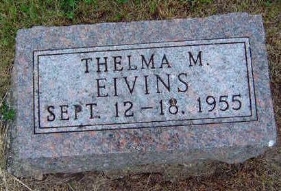 EIVINS, THELMA M. - Madison County, Iowa | THELMA M. EIVINS