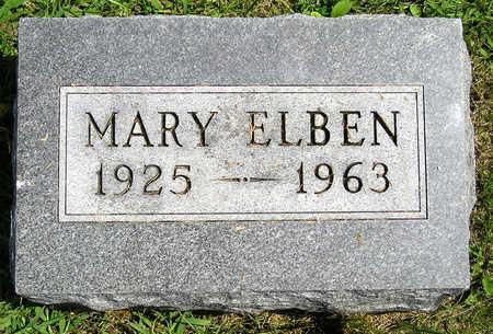 ELBEN, MARY LOUISE - Madison County, Iowa | MARY LOUISE ELBEN