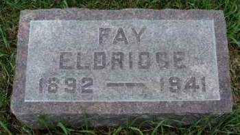 ELDRIDGE, FAY - Madison County, Iowa | FAY ELDRIDGE