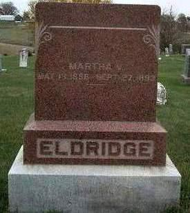 ELDRIDGE, MARTHA V. - Madison County, Iowa | MARTHA V. ELDRIDGE