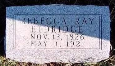 RAY ELDRIDGE, REBECCA - Madison County, Iowa | REBECCA RAY ELDRIDGE