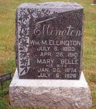 MITCHELL ELLINGTON, MARY BELLE - Madison County, Iowa | MARY BELLE MITCHELL ELLINGTON