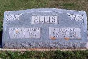 JAMES ELLIS, MYRTLE FERN - Madison County, Iowa | MYRTLE FERN JAMES ELLIS