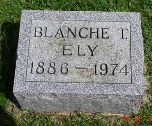 ELY, BLANCHE T. - Madison County, Iowa | BLANCHE T. ELY