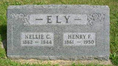 CLARK  ELY, NELLIE C. - Madison County, Iowa | NELLIE C. CLARK  ELY