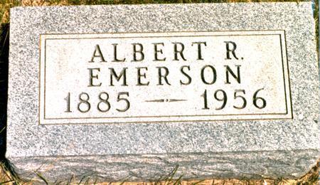 EMERSON, ALBERT ROSCOE - Madison County, Iowa | ALBERT ROSCOE EMERSON