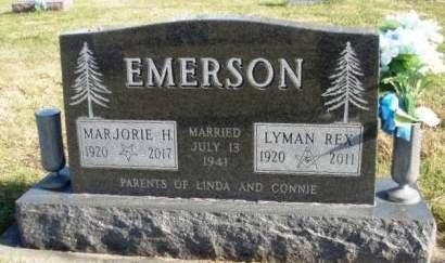 EMERSON, MARJORIE MAY - Madison County, Iowa | MARJORIE MAY EMERSON