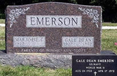 EMERSON, GALE DEAN - Madison County, Iowa | GALE DEAN EMERSON