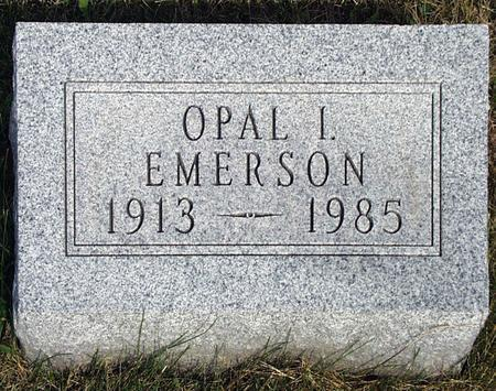 EMERSON, OPAL I. - Madison County, Iowa | OPAL I. EMERSON