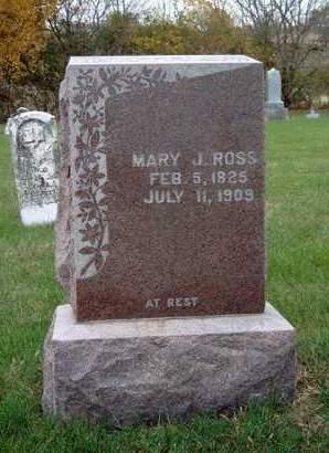 EMERY ROSS, MARY JANE - Madison County, Iowa   MARY JANE EMERY ROSS