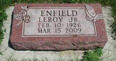 ENFIELD, LEROY CLARENCE, JR. - Madison County, Iowa | LEROY CLARENCE, JR. ENFIELD