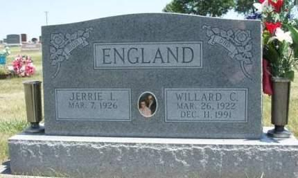 ENGLAND, JERRIE L. - Madison County, Iowa | JERRIE L. ENGLAND