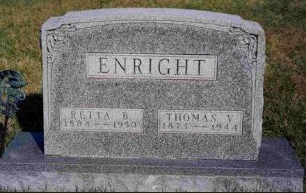PEED ENRIGHT, RETTA BLANCHE - Madison County, Iowa | RETTA BLANCHE PEED ENRIGHT
