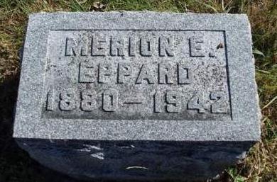 EPPARD,  MERION ELMER - Madison County, Iowa |  MERION ELMER EPPARD