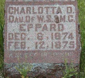 EPPARD, CHARLOTTA DELLA - Madison County, Iowa | CHARLOTTA DELLA EPPARD