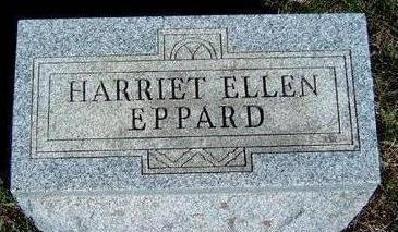 DAVIS EPPARD, HARRIET ELLEN - Madison County, Iowa | HARRIET ELLEN DAVIS EPPARD