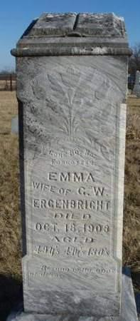 BELLIS ERGENBRIGHT, EMMA - Madison County, Iowa | EMMA BELLIS ERGENBRIGHT