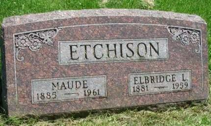 ETCHISON, CARRIE MAUDE - Madison County, Iowa | CARRIE MAUDE ETCHISON