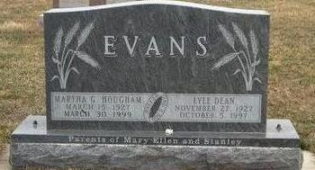 EVANS, LYLE DEAN - Madison County, Iowa | LYLE DEAN EVANS