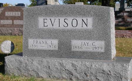 EVISON, FRANK LEANARD - Madison County, Iowa | FRANK LEANARD EVISON