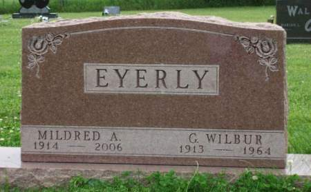 HERREN EYERLY, MILDRED ALICE - Madison County, Iowa | MILDRED ALICE HERREN EYERLY